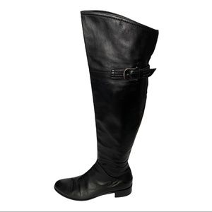 Browns Couture Leather Over the Knee Boots Size 37